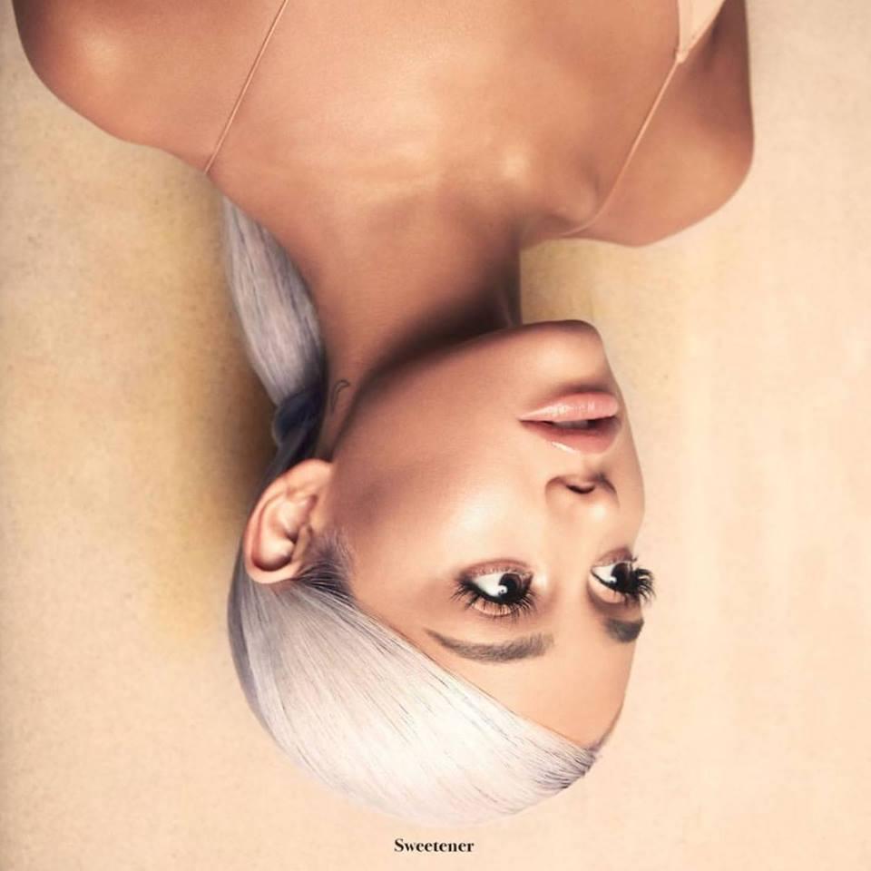 Ariana Grande Sweetner Cover Art