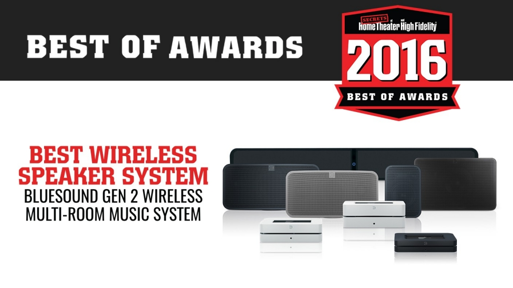 Award best wireless speaker system
