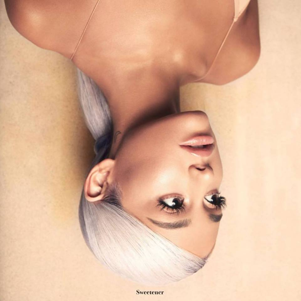 Ariana Grande Sweetner Cover Art