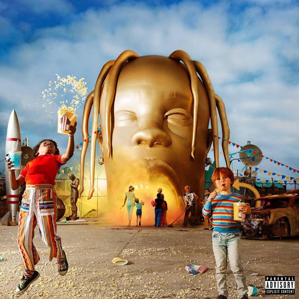 Travis Scott Astroworld Album Artwork