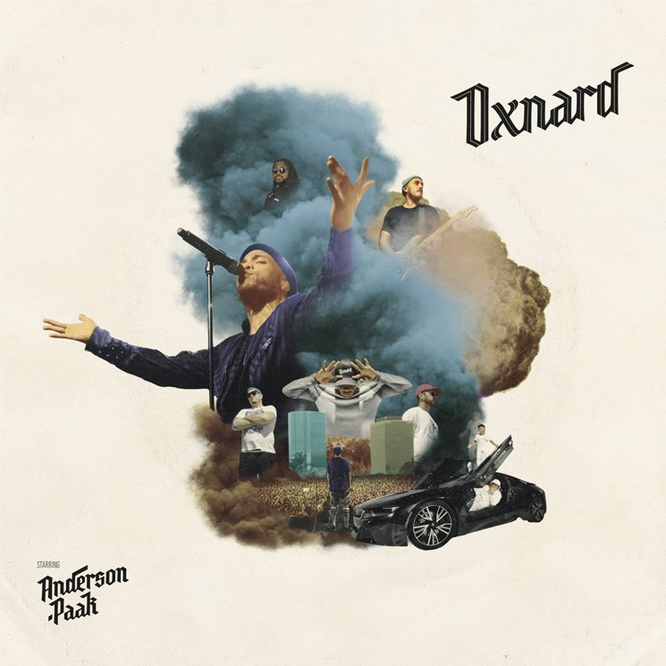 Anderson Paak Oxnard cover art