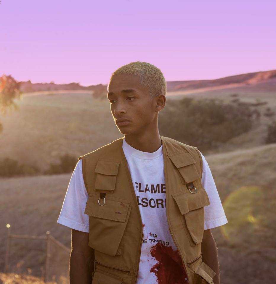 Jaden Smith The Sunset Tapes cover art