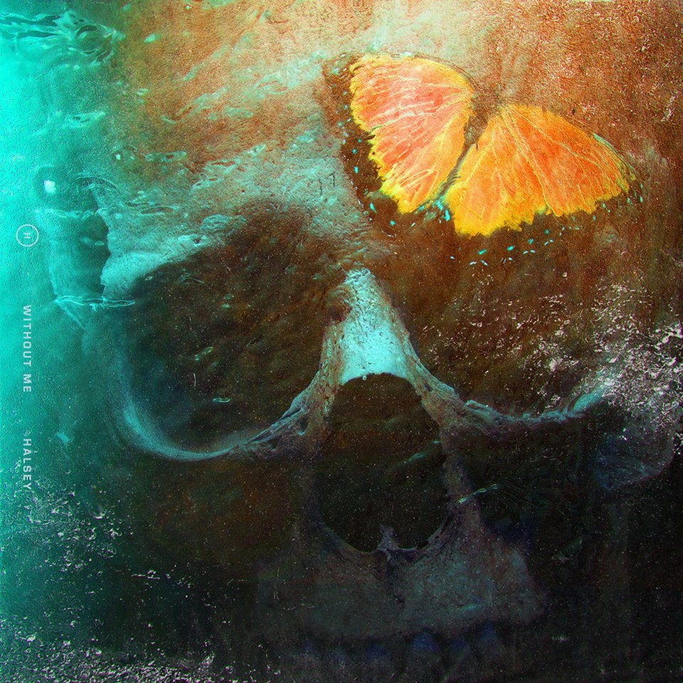 Halsey Without Me Single Artwork