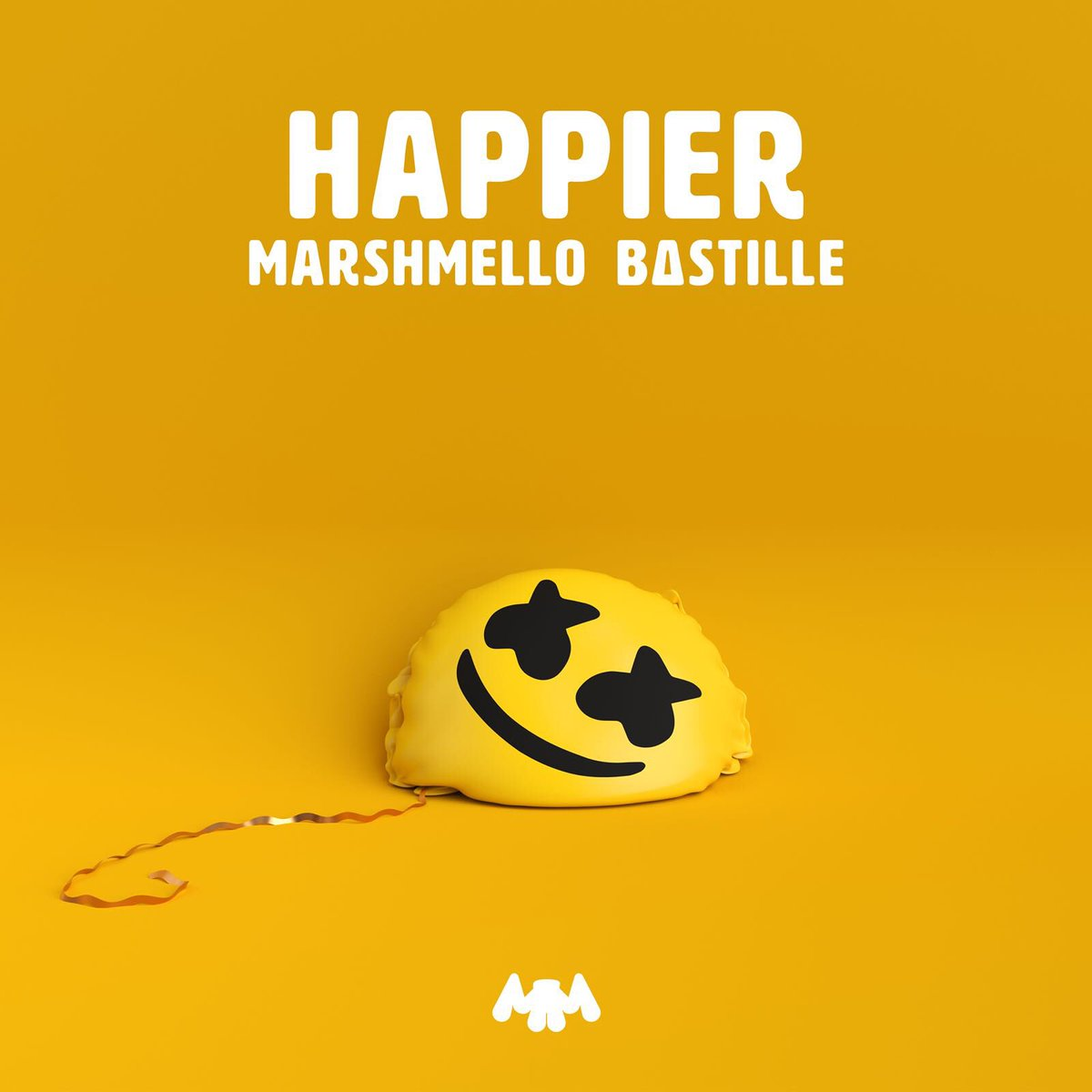Happier Marshmello Bastille Single Art